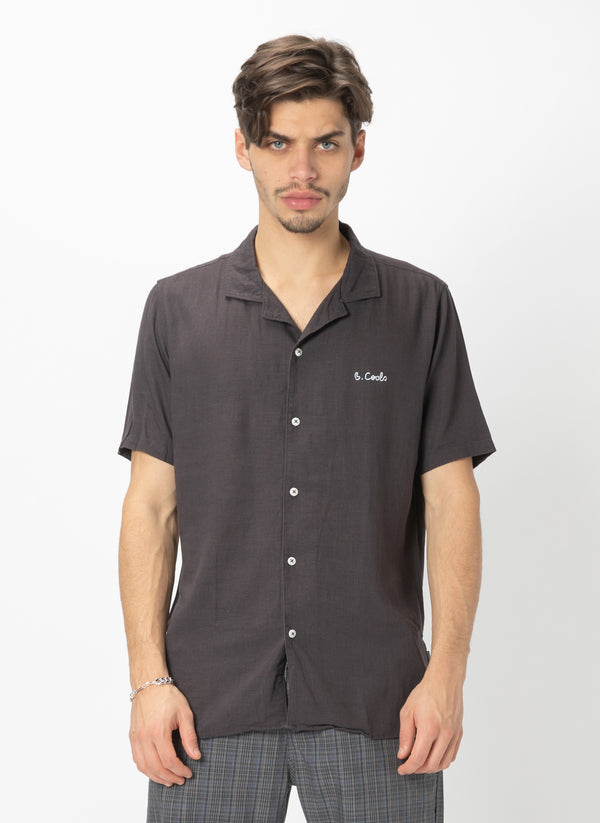 Holiday Camp-Collar Shirt Black