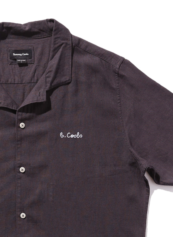 Holiday Camp-Collar Shirt Black - Sale
