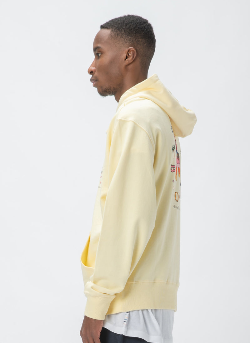 Vacation Gerald Hood Sweatshirt Summer Yellow