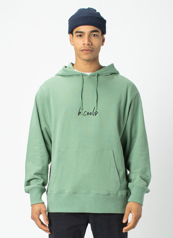 Barney Cools Hood Embro Sweatshirt Herb - Sale