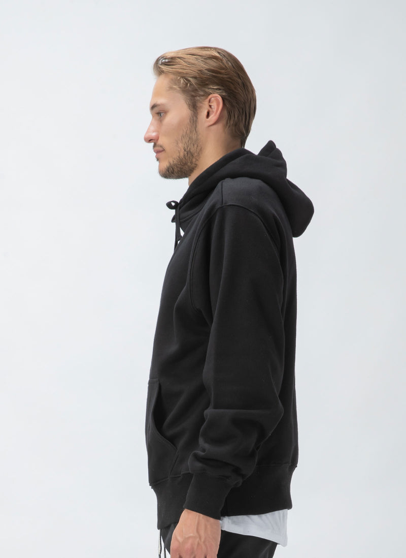 B.Cools Embro Hood Sweatshirt Black