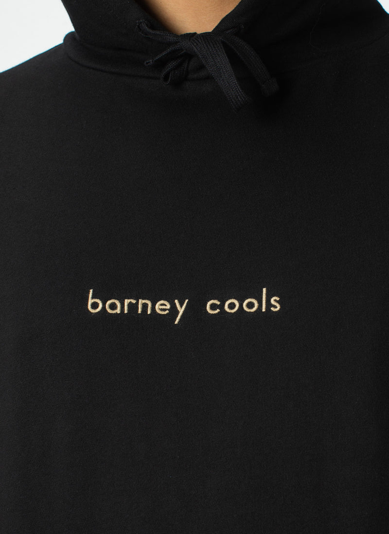 Barney Cools Hood Embro Sweatshirt Black