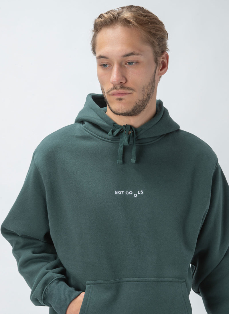 Not Cools Hood Sweatshirt Forest