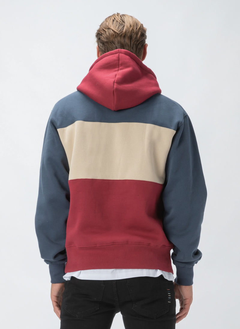 B.Cools Hood Sweatshirt Red Panel