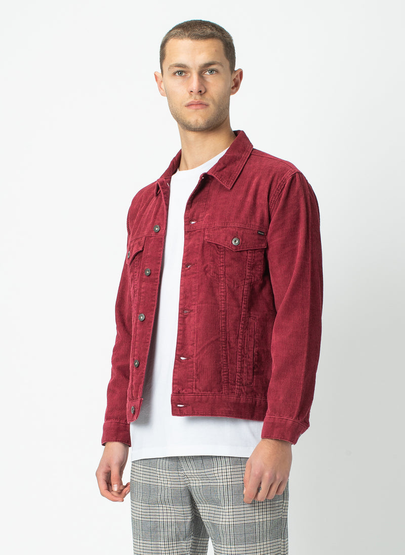 B.Rigid Jacket Red Cord