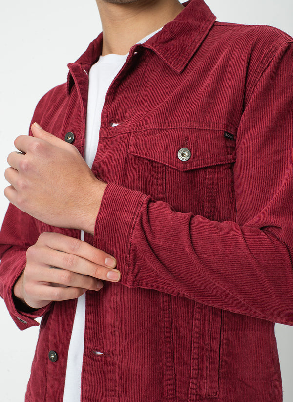 B.Rigid Jacket Red Cord - VIP