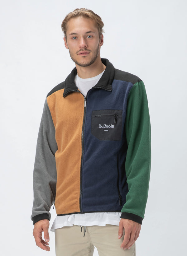 B.Quick Polarfleece Jacket Colour Block - Sale