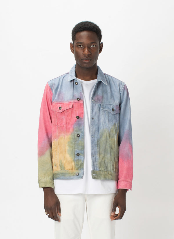 B.Rigid Jacket Tie Dye