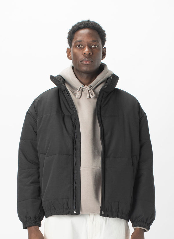 Regal Puffer Jacket Black