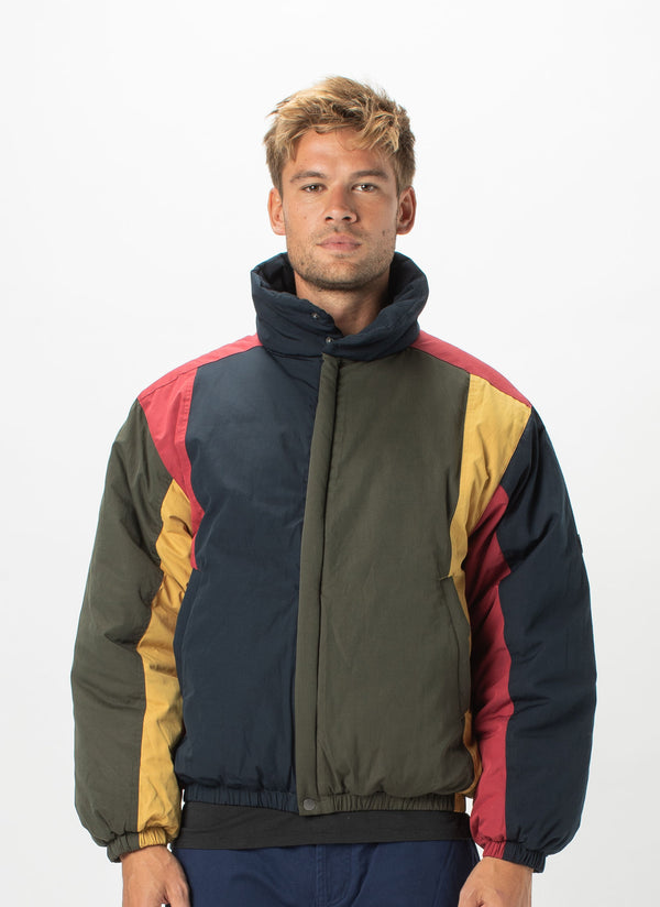 Regal Puffer Jacket Colour Block