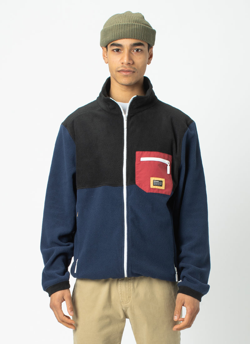 B.Quick Polarfleece Jacket Black
