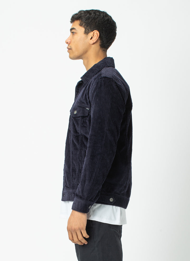 B.Rigid Jacket Navy Cord - Sale