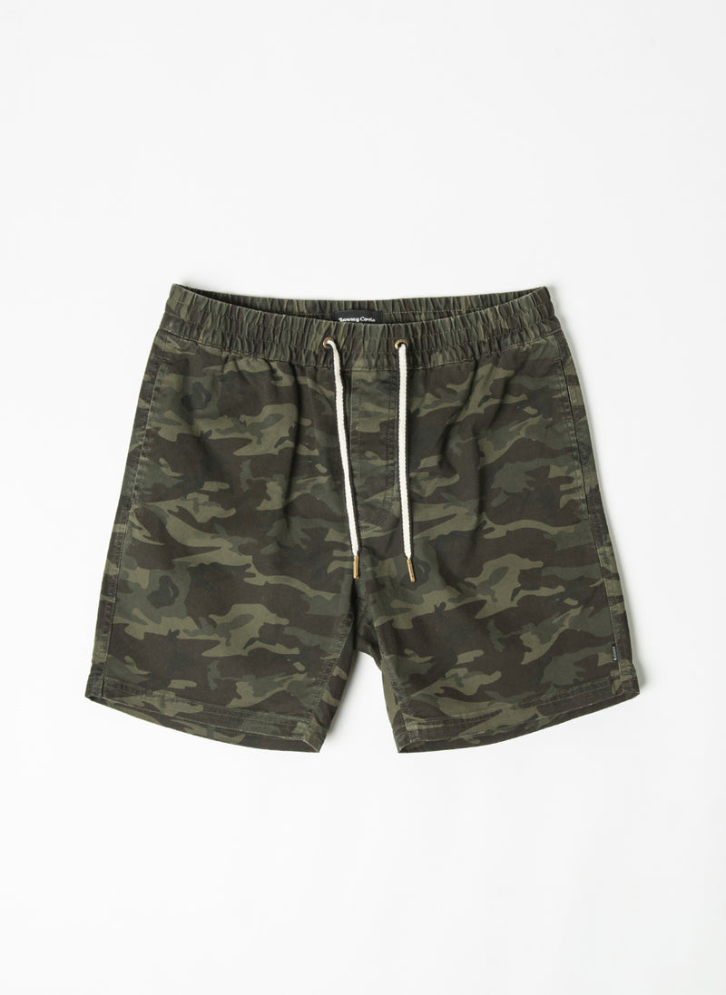 "Poolside 17"" Short Dark Camo - Sale"