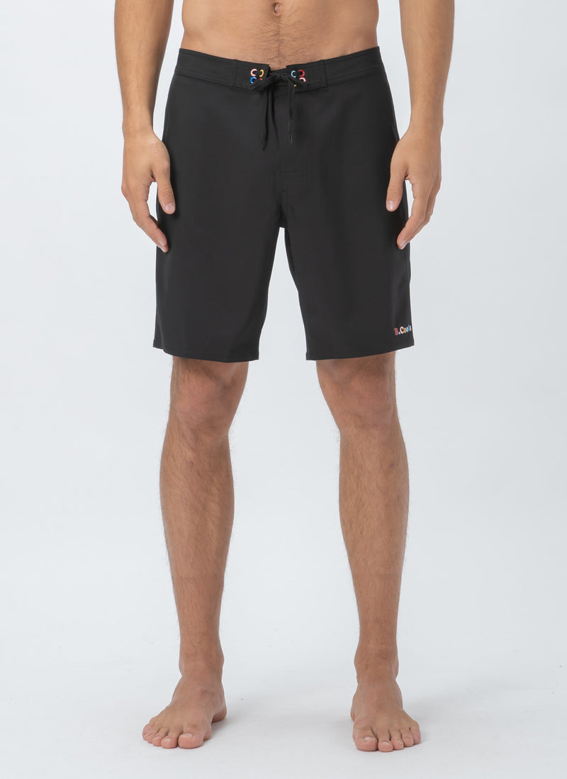 "Aquatech 19"" Swim Short Black"