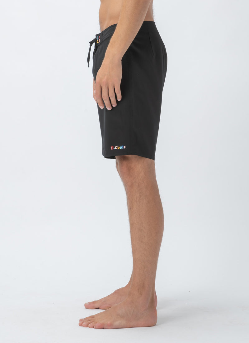 "Aquatech 19"" Short Black"
