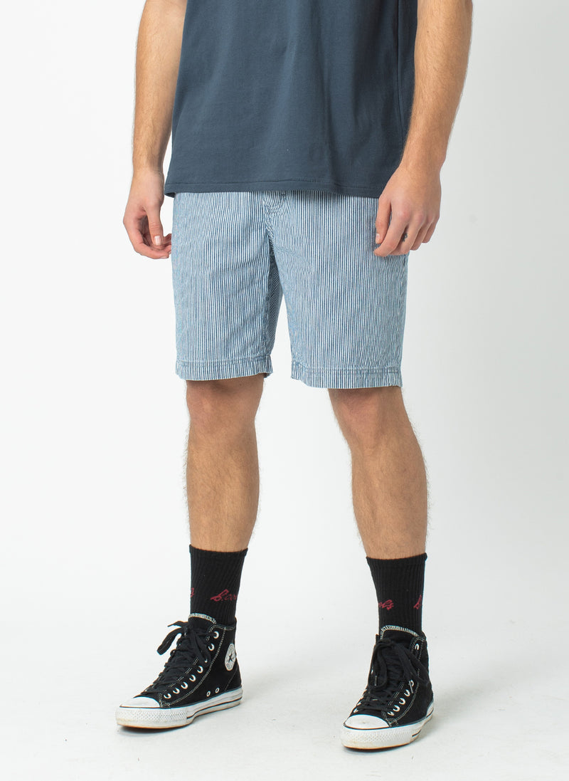 B.Relaxed Short Navy Stripe - Sale