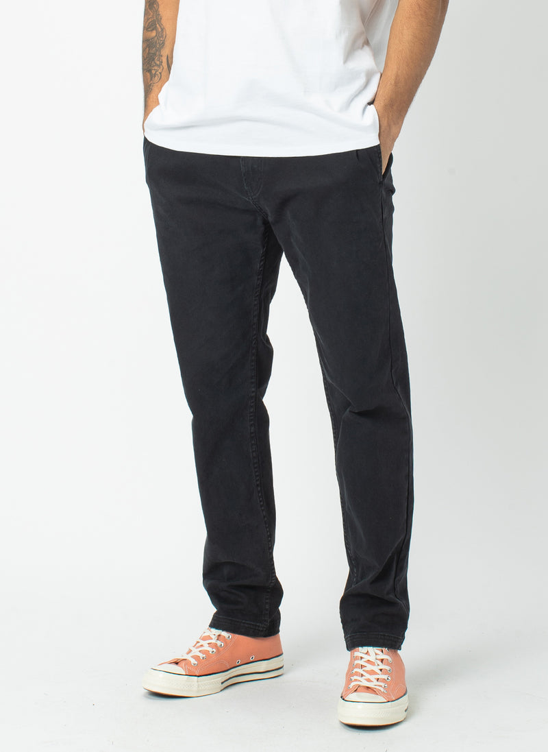 B.Relaxed Chino Black