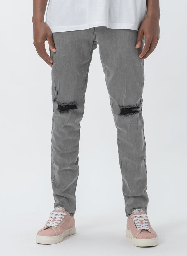 B.Slim Jean Acid Black