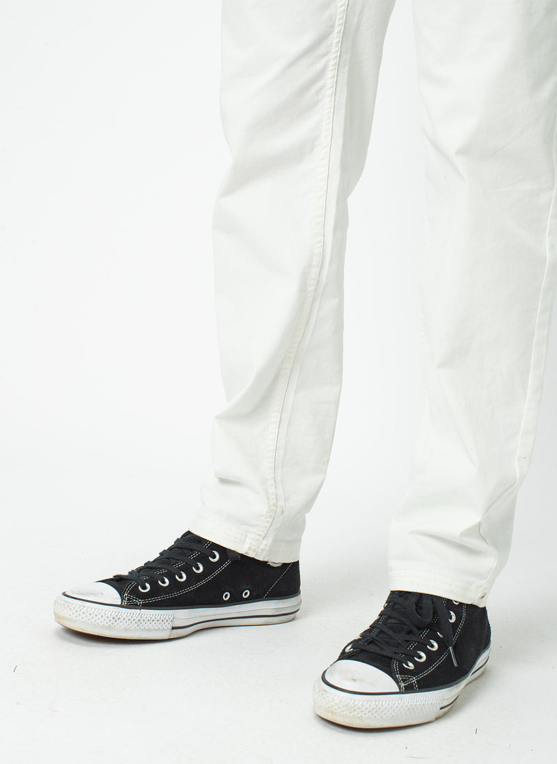 B.Relaxed Chino White