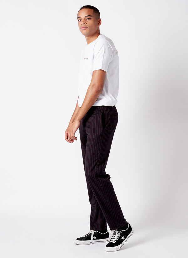 B.Relaxed Chino Red Stripe - Sale