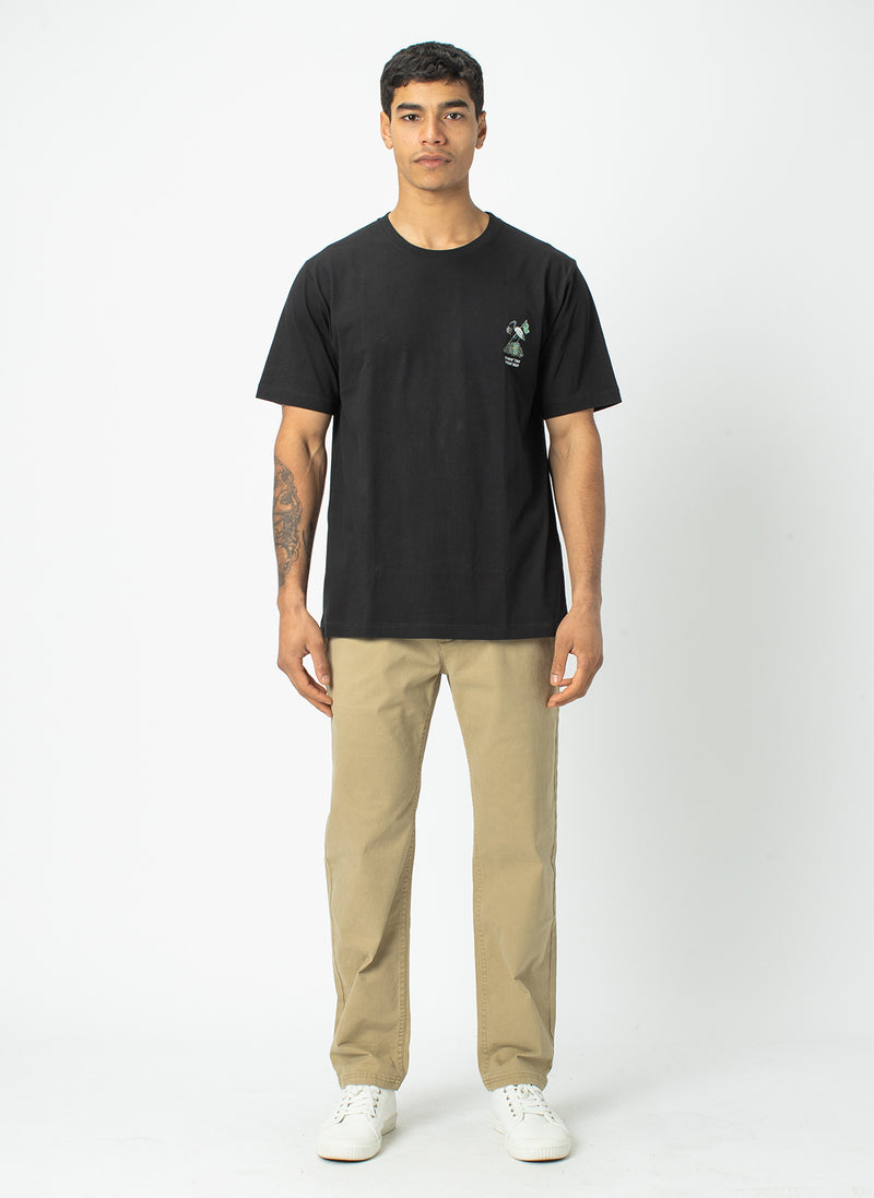 B.Relaxed Chino Tan