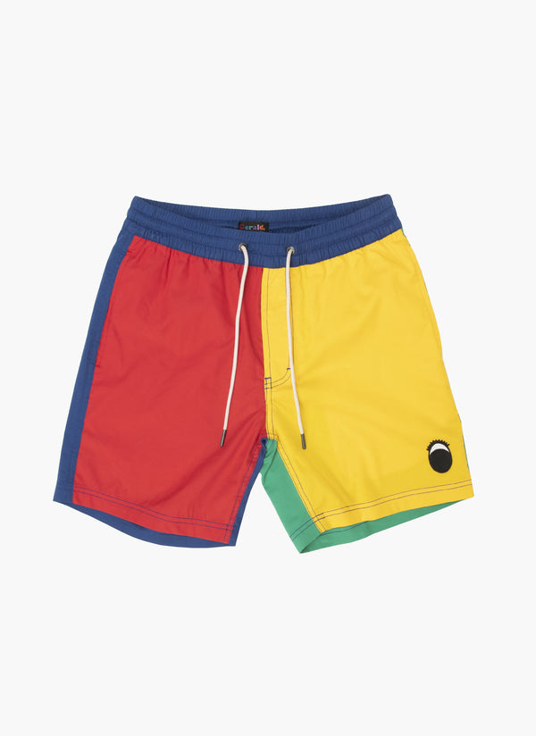 "Gerald Poolside 17"" Short Colour Block - Sale"