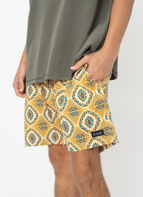 "Amphibious 17"" Short Boho Yellow"