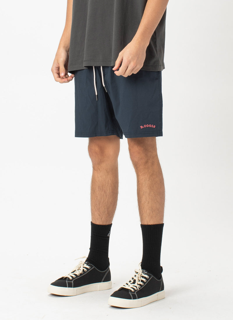 "Amphibious 17"" Swim Short Navy"