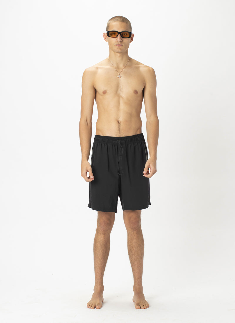 Resort Tech Swim Short Black
