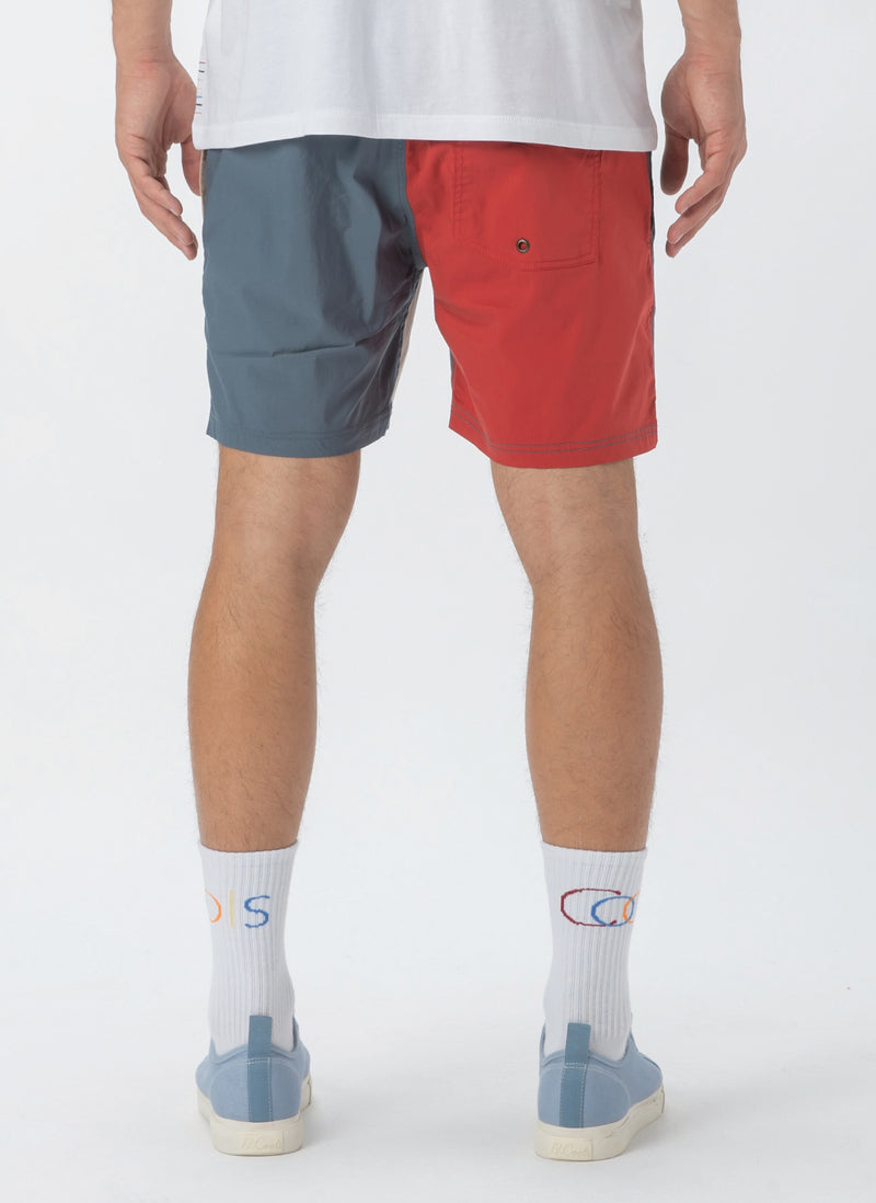 "Amphibious 17"" Swim Short Colour Block"