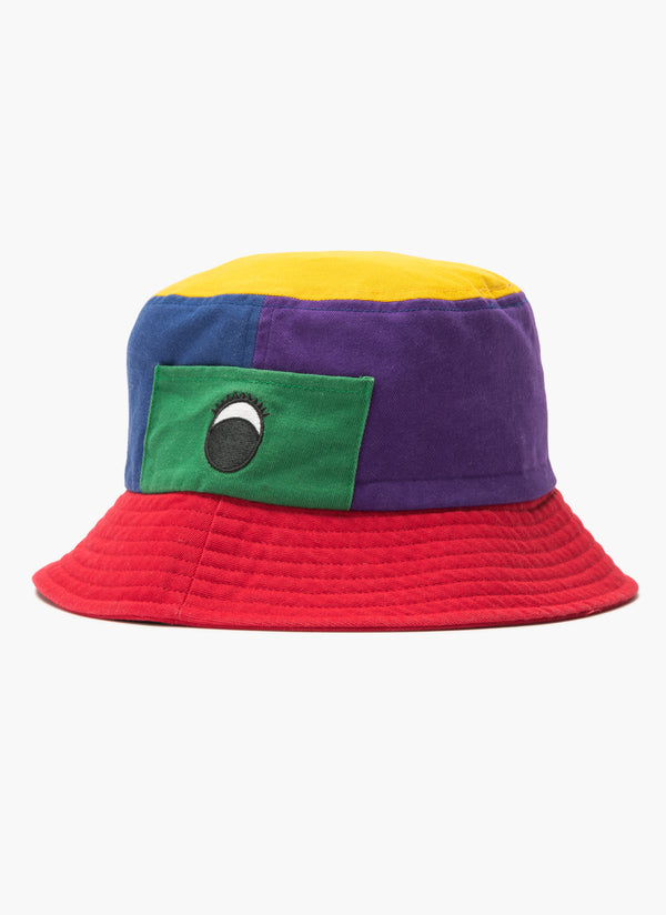 Gerald Bucket Hat Colour Block - Sale