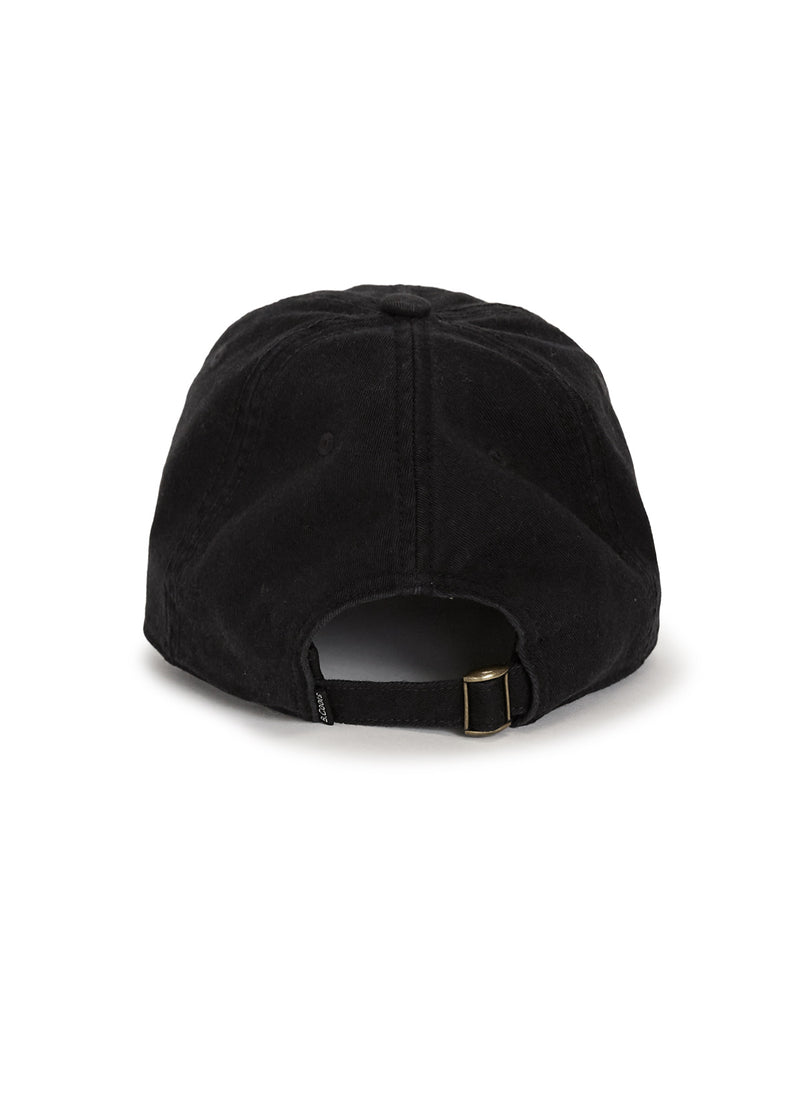 Eye Curve Brim Washed Black