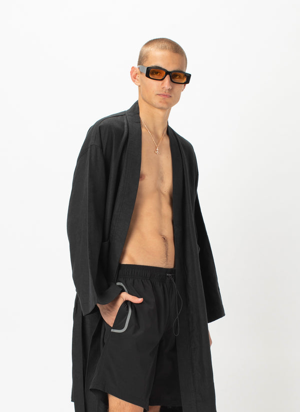 Poolside Robe Black
