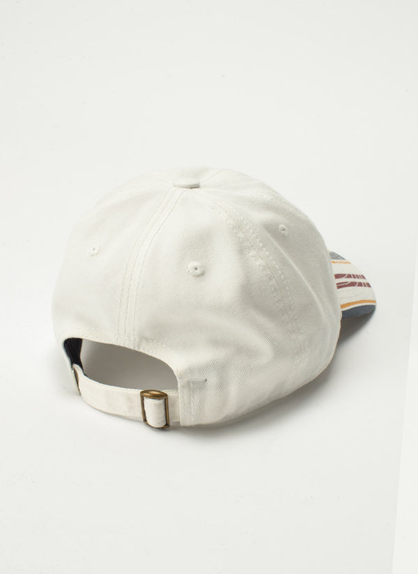 B.Cools Embro Curve Brim White Stripe