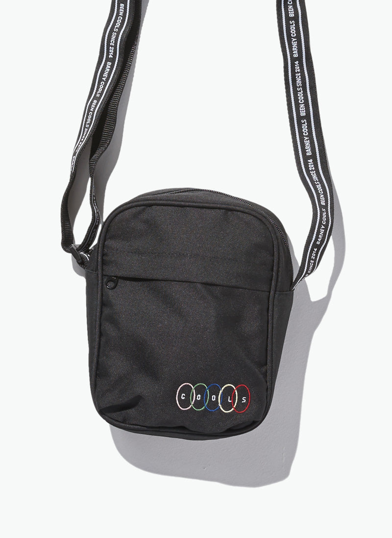 B.Cools Side Bag Black Tape