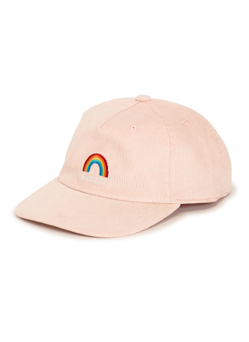 Rainbow 5-Panel Pink Corduroy