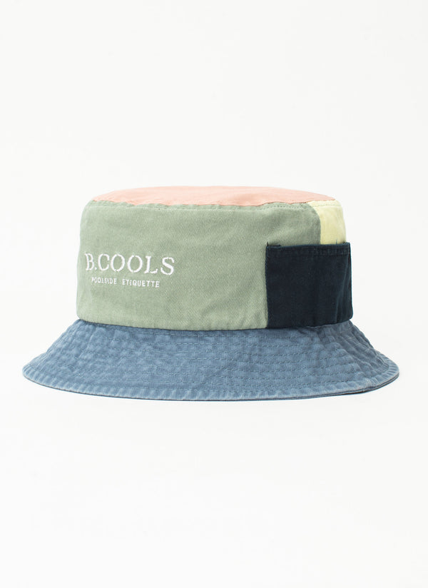 Bucket Hat Colour Block