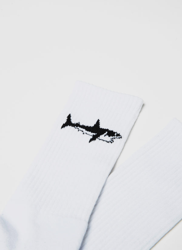 Aquatic 2-Pack Sock White/Pink