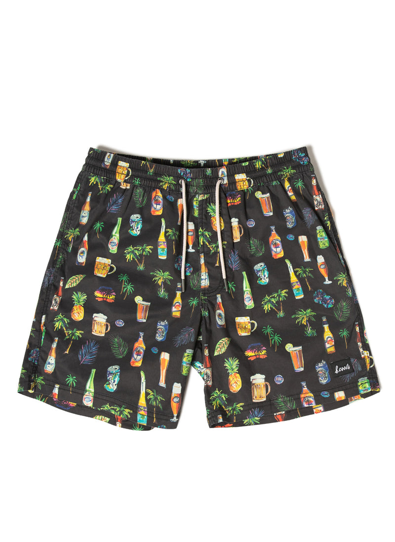 "Amphibious 17"" Short Black Beers"