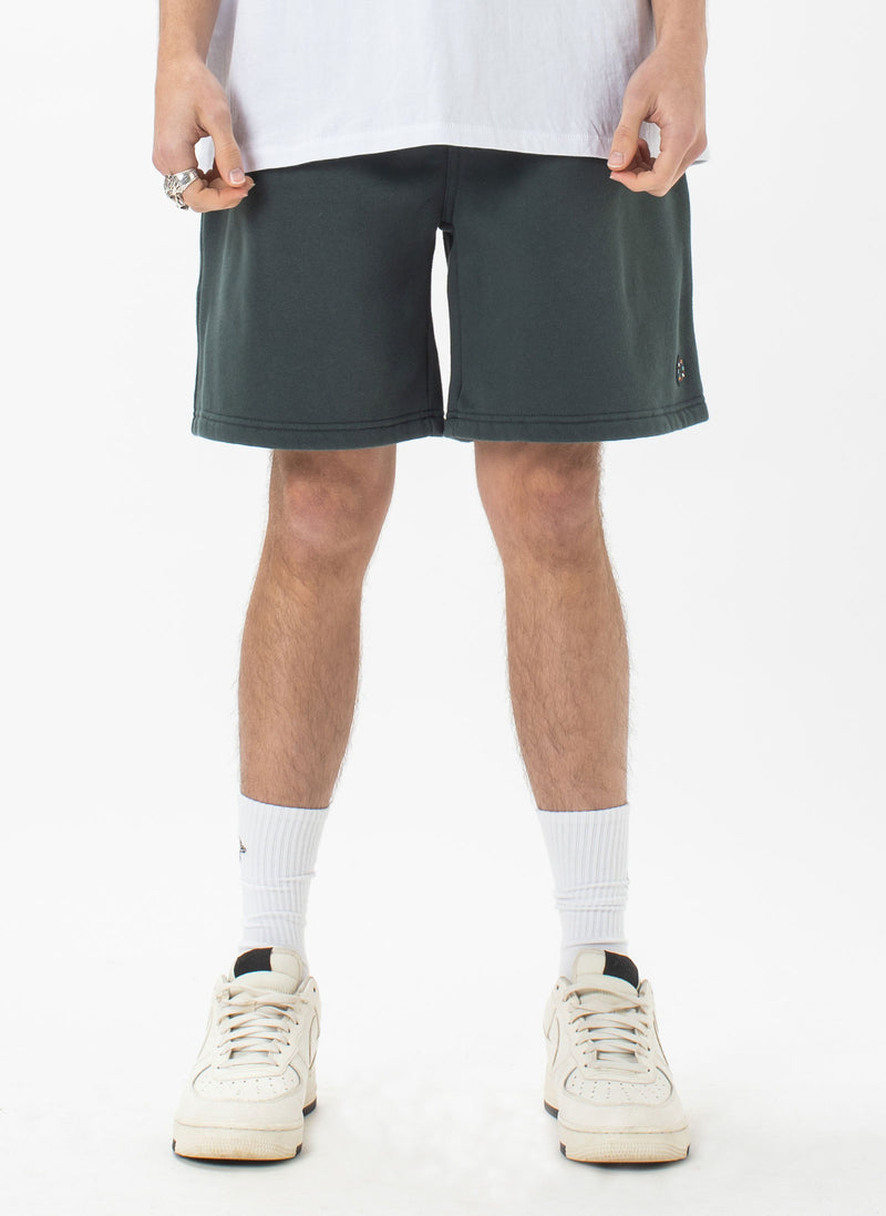Badge Fleece Short Forest