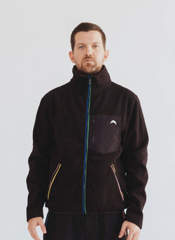 Gerald Polar Fleece Jacket Black