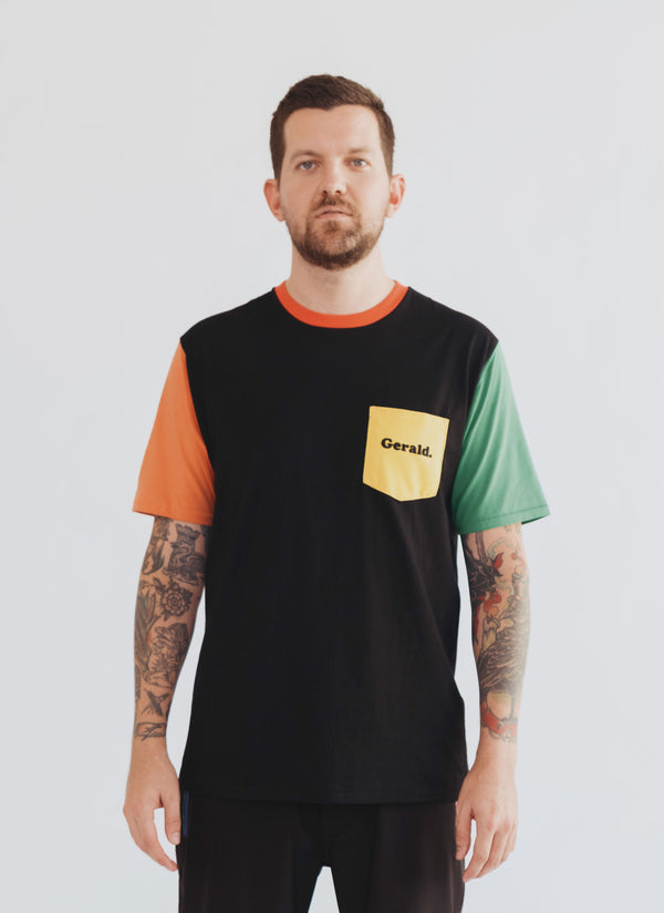 Gerald Tee Colour Block