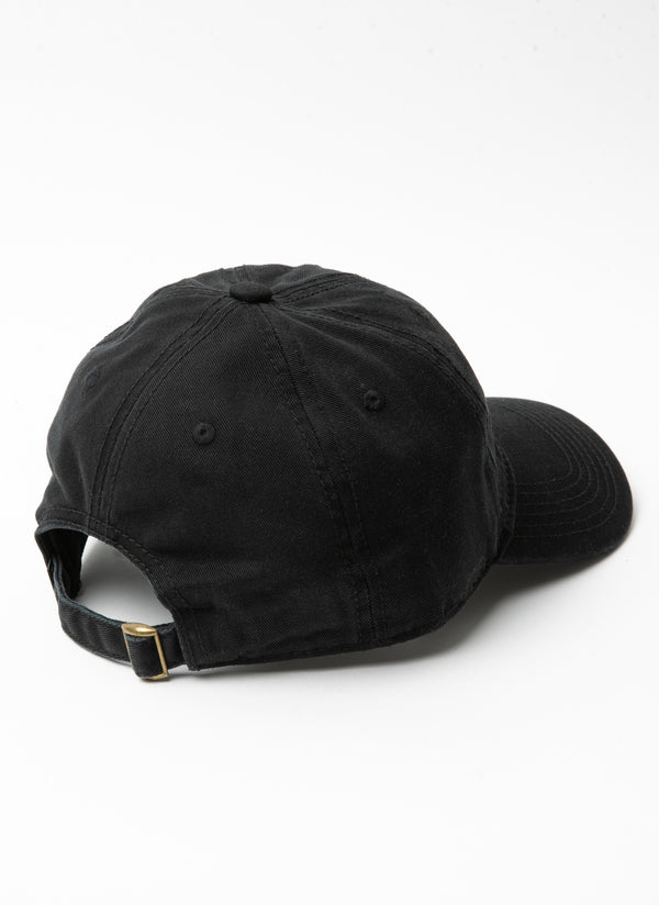 Barney Cools Embro Curve Brim Washed Black