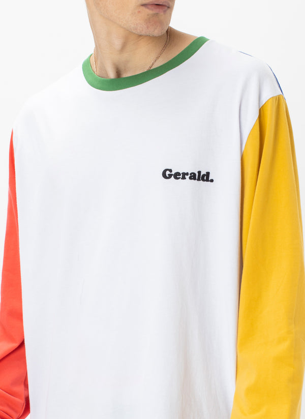 Gerald LS Tee Colour Block