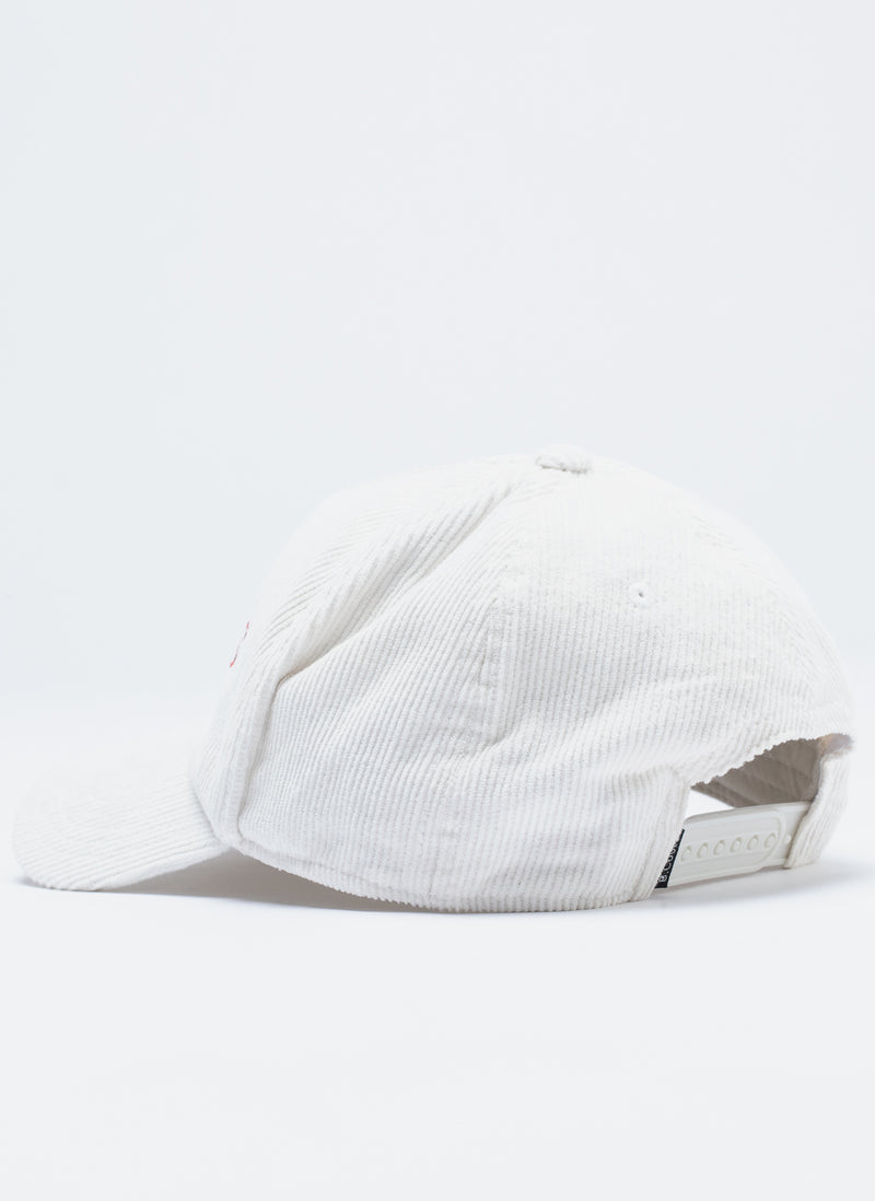 Leisure Club Corduroy Hat White Cord