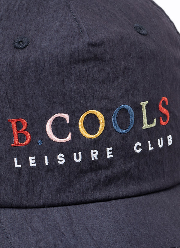 Leisure Club Nylon 5-Panel Navy