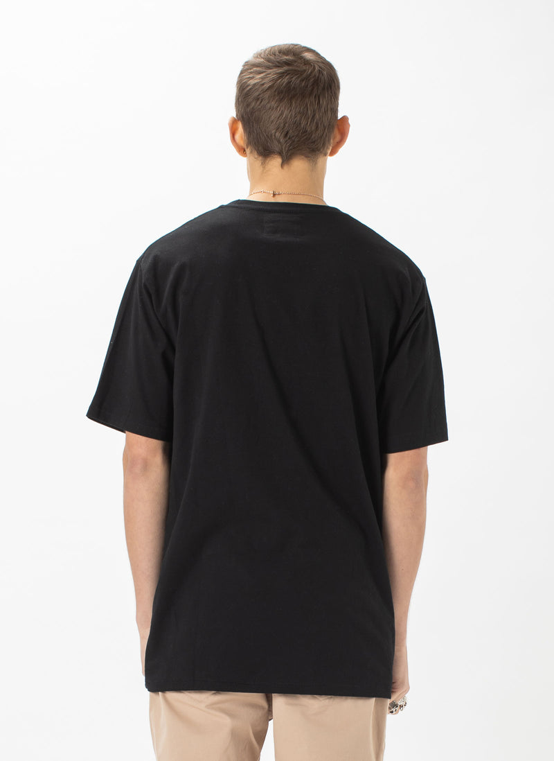 B.Cools Retro Embro Tee Black