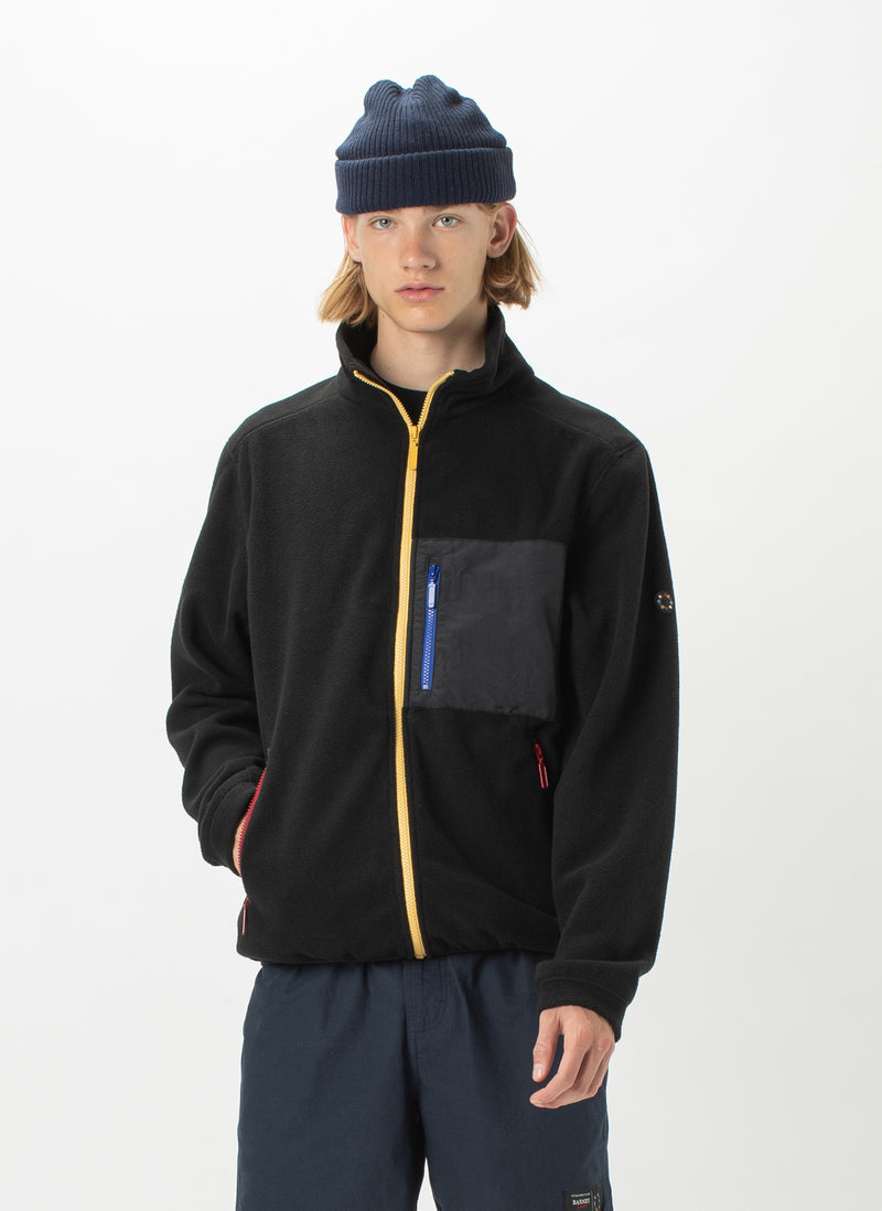 B.Quick Polarfleece Jacket Black Panel