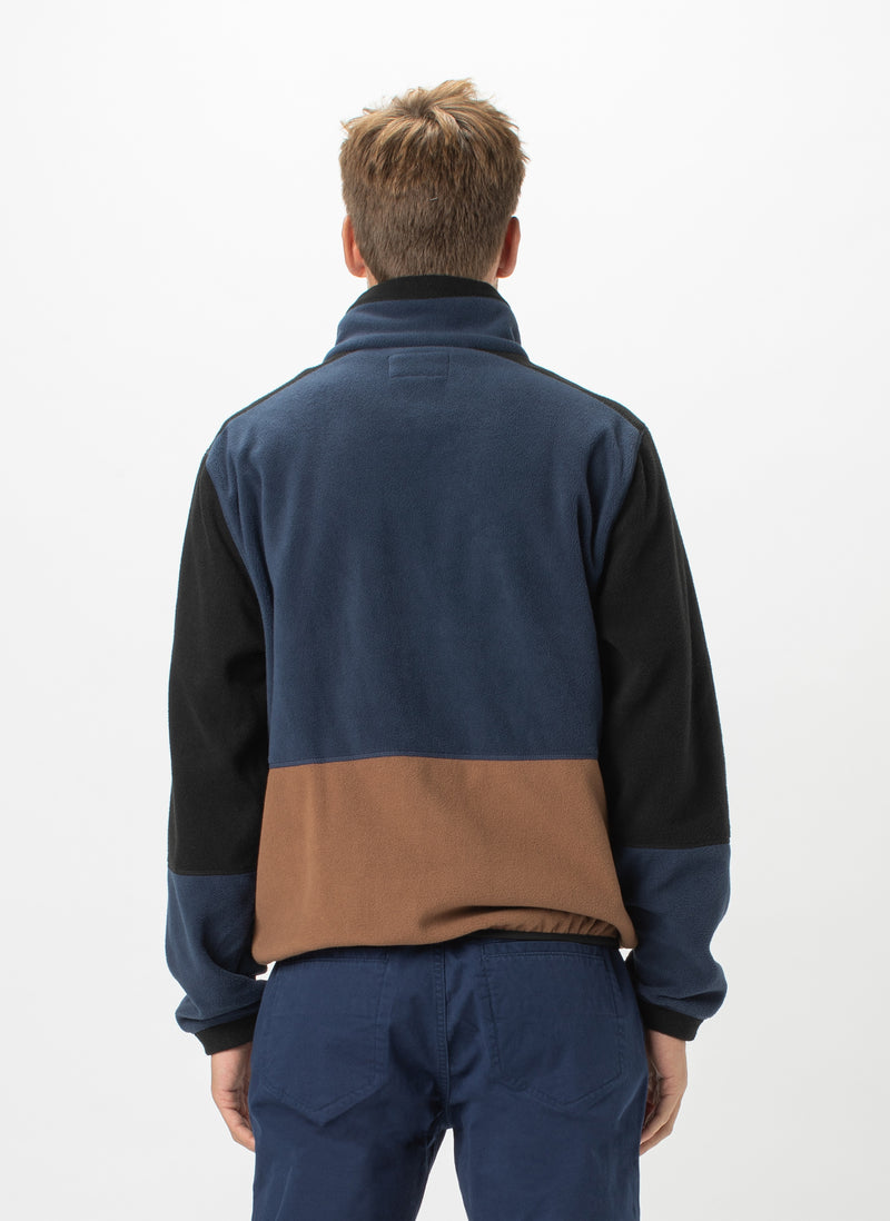 B.Quick Polarfleece Jacket Navy Panel