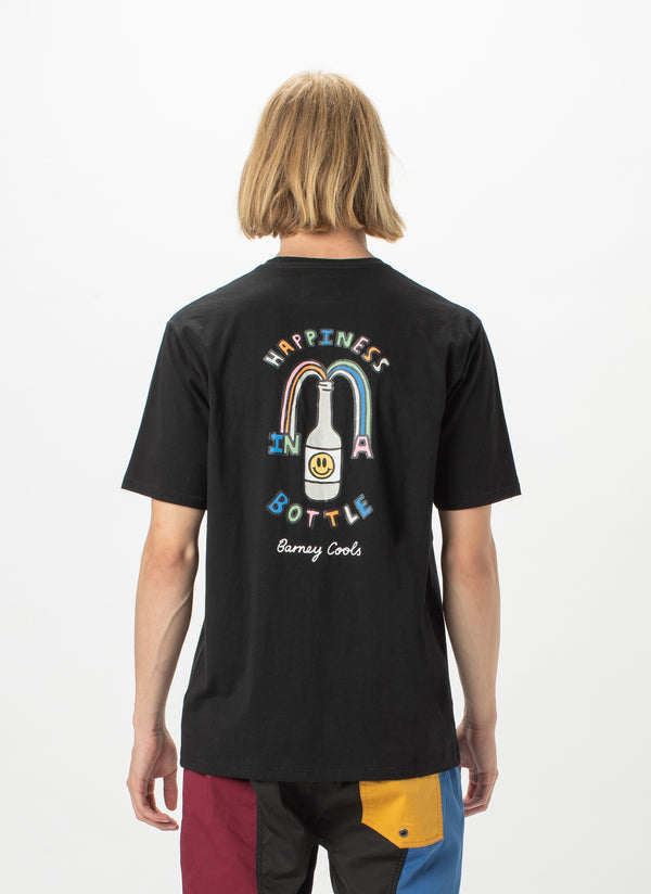 Happiness Tee Black